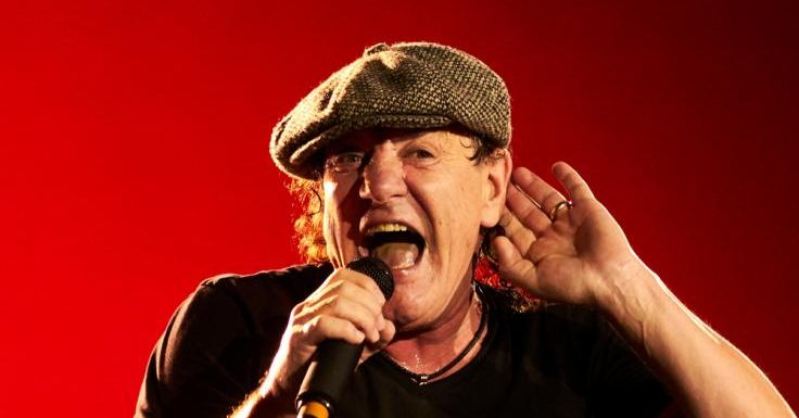 "AC DC: ""Furchtbarer Schock"": AC/DC-Star Brian Johnson über Malcolm Youngs Tod"