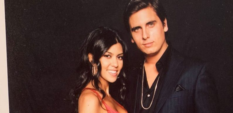 Kourtney Kardashian teilt heißes Throwback-Pic mit Ex Scott