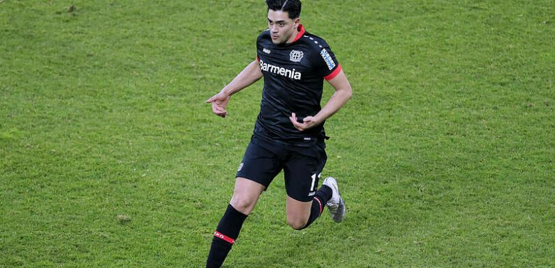 Nationalspieler Nadiem Amiri ist an Covid-19 erkrankt