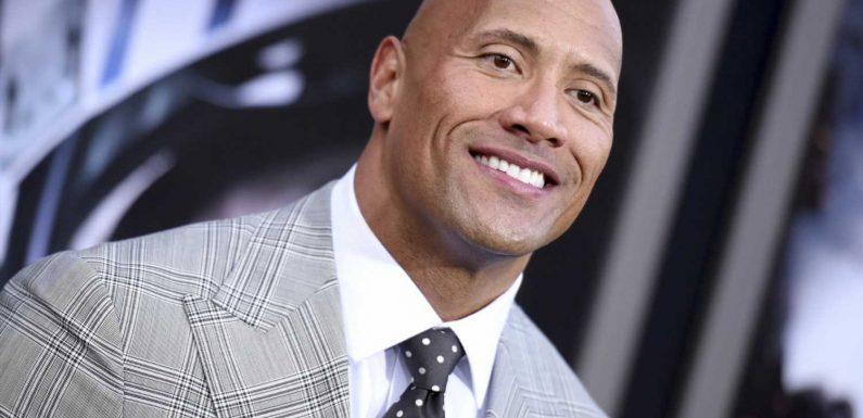 """Dwayne """"The Rock"""" Johnson gewinnt das Internet mit süßem Papa-Tochter-Moment für sich"""