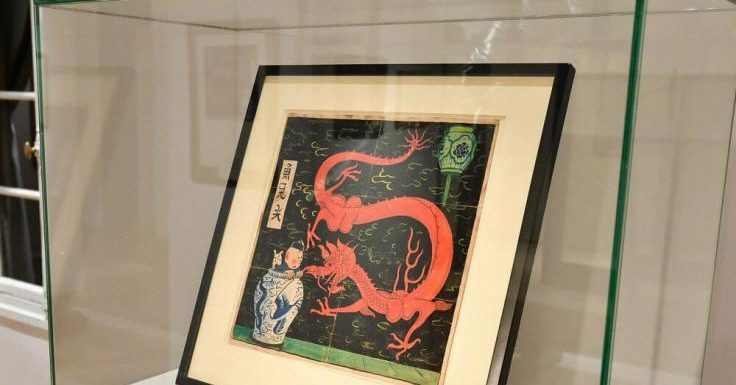 """Georges Remi: Bei Auktion: Drei Millionen Euro für """"Tim-und-Struppi""""-Comic-Cover"""