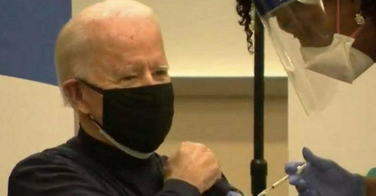 Joe Biden: Corona-Impfung: Zweite Dosis für gewählten US-Präsidenten Joe Biden
