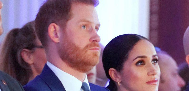 """Megxit: """"Ein schmerzhaftes Jahr"""" für Prinz Harry und Herzogin Meghan"""