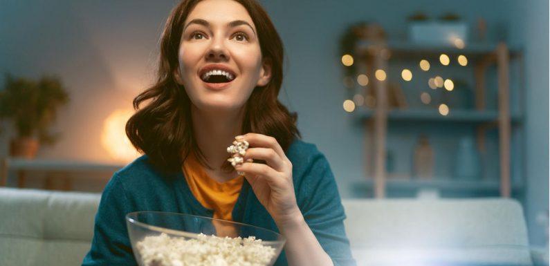 Top-Auswahl für einen Kinoabend auf der Couch