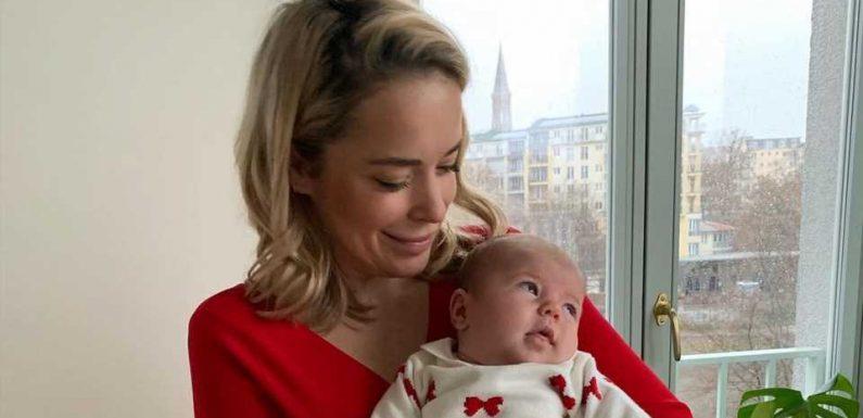 Comeback nach Geburt: Neu-Mama Marina Hoermanseder ist stolz