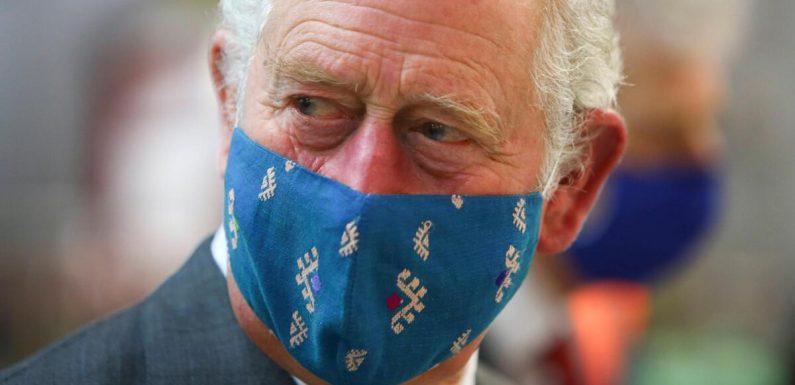 Mit Tränen in den Augen: Prinz Charles besucht seinen Vater im Krankenhaus