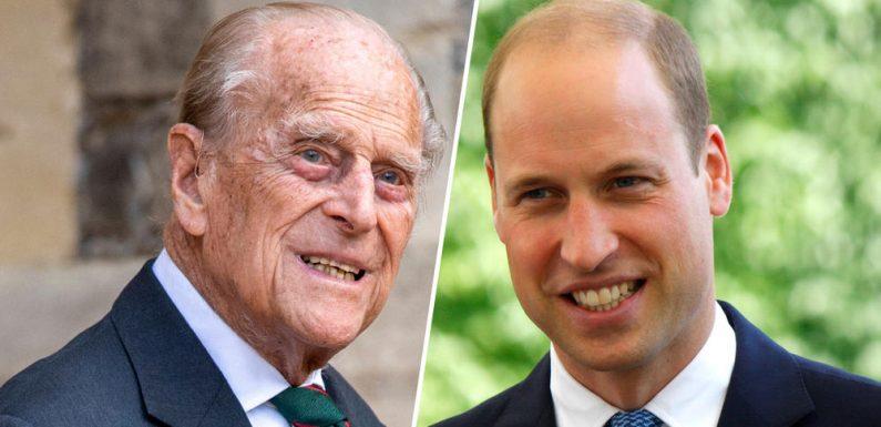 """Prinz William über seinen Großvater Prinz Philip: """"Er ist okay"""""""