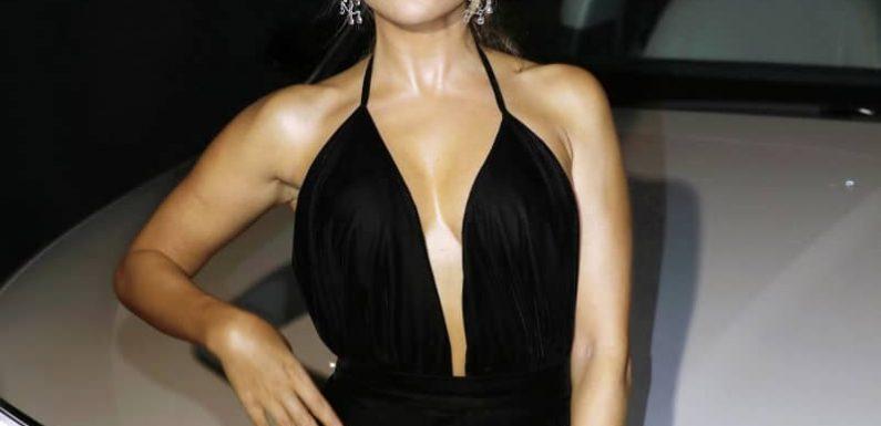 Wow: Sylvie Meis posiert im knappen Body