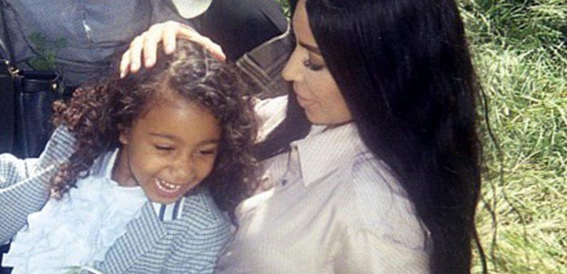 Kim Kardashians Tochter North bekommt ein Make-Over