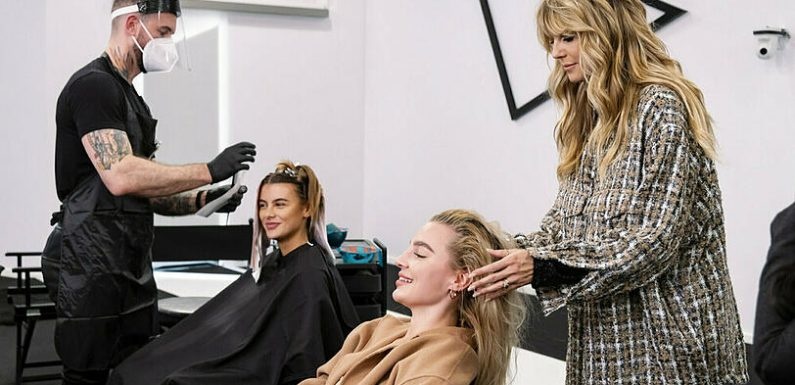 'Germany's next Topmodel': Umstyling, Zickenzoff und Doppel-Challenge