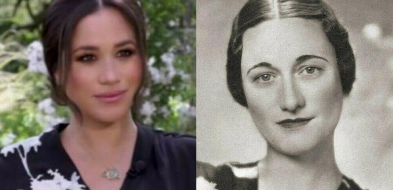 War Herzogin Meghans Interview-Look von Wallis Simpson inspiriert?