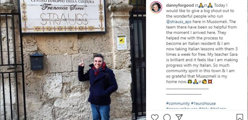 Mega Schnäppchen: Australier kauft sich ein Haus auf Sizilien – für nur einen Euro!