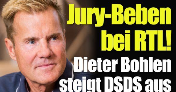"""DSDS-Hammer: Dieter Bohlen steigt bei """"Deutschland sucht den Superstar"""" aus"""