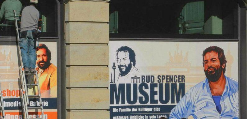 Museum über Bud Spencer eröffnet im Juni in Berlin