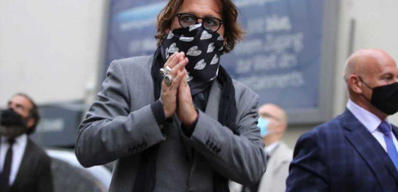 Johnny Depps Dusch-Einbrecher wegen Vandalismus eingesperrt!