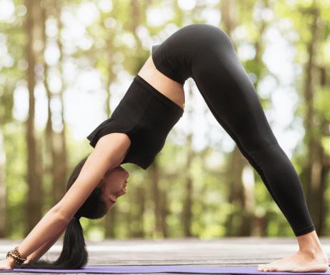 Abnehmen: Mit Yoga zum flachen Bauch