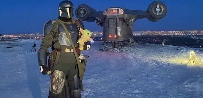 """Originaltreue Nachbildung: Sibirische Fans bauen """"The Mandalorian""""-Raumschiff nach"""