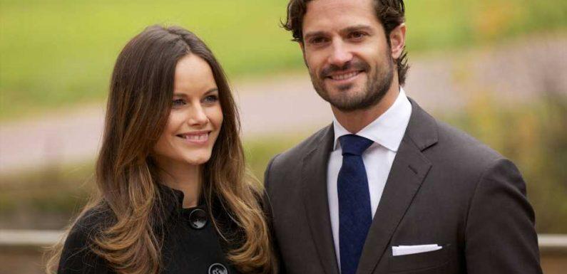 Carl Philip und Sofia von Schweden erstmals mit Baby gesehen