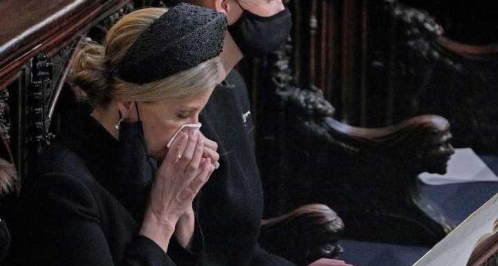 5 Szenen der Beisetzung in Windsor, die zu Herzen gehen