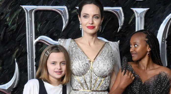 Angelina Jolie: Tochter Vivienne sieht mitgenommen aus