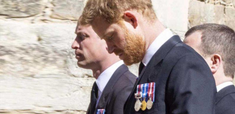 Besonderer Moment zwischen Harry, William und Kate