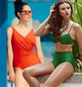 Bikinis und Badeanzüge: Die schönsten Modelle mit Schlank-Effekt