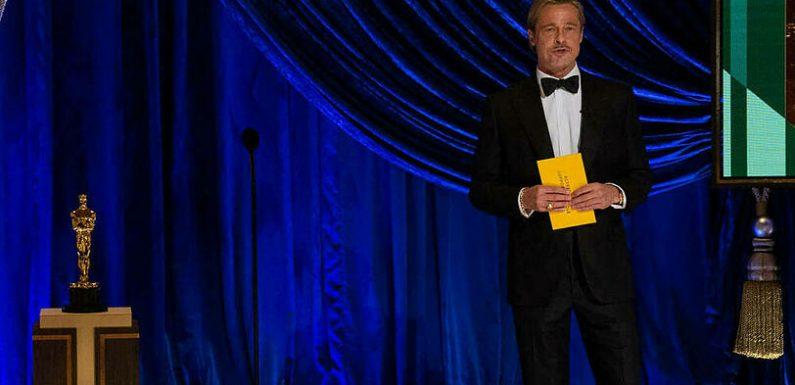 Brad Pitt überrascht mit 'Man Bun' bei den Oscars