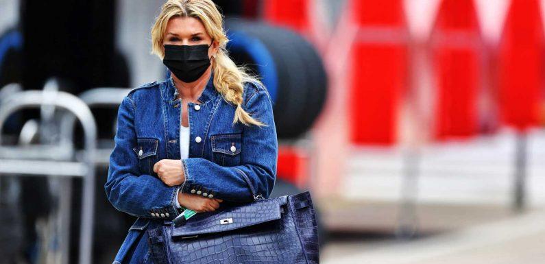 Corinna Schumacher unterstützt Sohn Mick bei Formel-1-Rennen in Imola