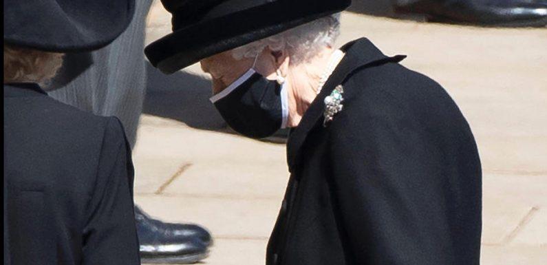 Die Queen und ihre Familie nehmen Abschied von Prinz Philip