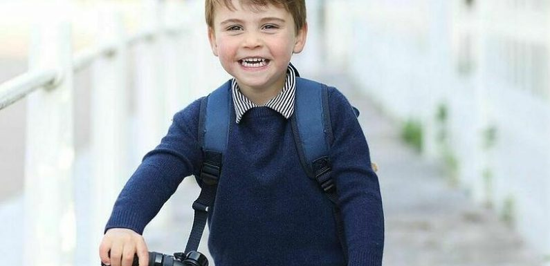 Dritter Geburtstag: Prinz Louis fährt mit dem Rad zum Kindergarten