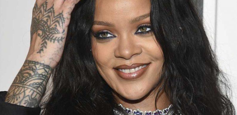 Für Date-Night: Rihanna trägt komplett durchsichtiges Shirt