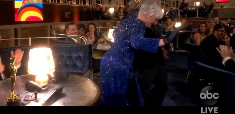 Glenn Close wird für Tanzeinlage bei Oscars gefeiert