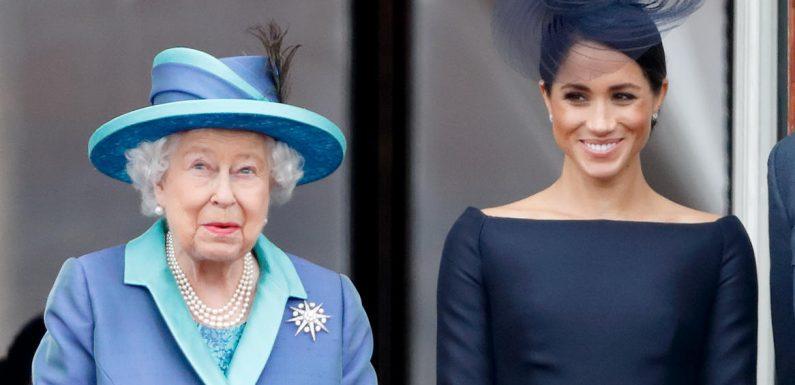 Herzogin Meghan soll mit der Queen telefoniert haben