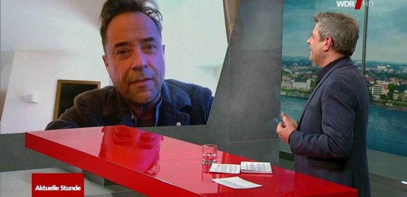 """Jan Josef Liefers über #allesdichtmachen: """"Das ist ein Protest, der richtet sich gegen unsere Regierung"""""""
