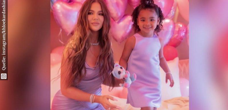 Khloé Kardashian: XXL-Geburtstagsparty für Tochter True (3)