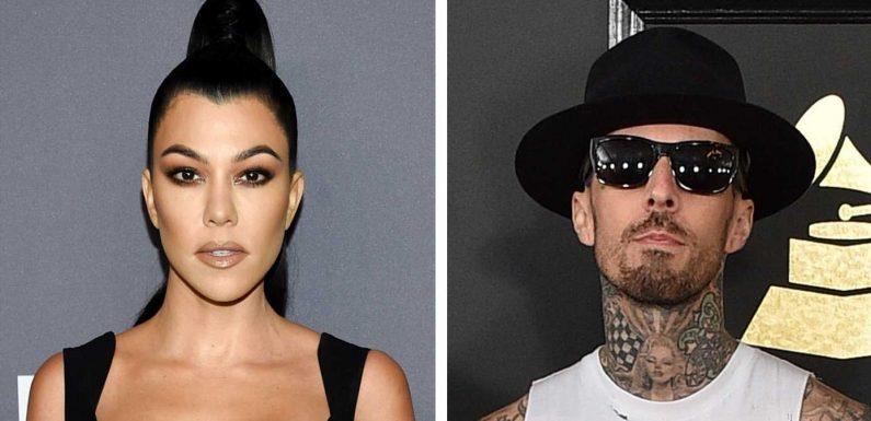 Kourtney Kardashian und Travis Barker: Heiße Liebes-Grüße aus der Wüste