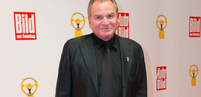 Krebskranker Fritz Wepper wurde aus Krankenhaus entlassen