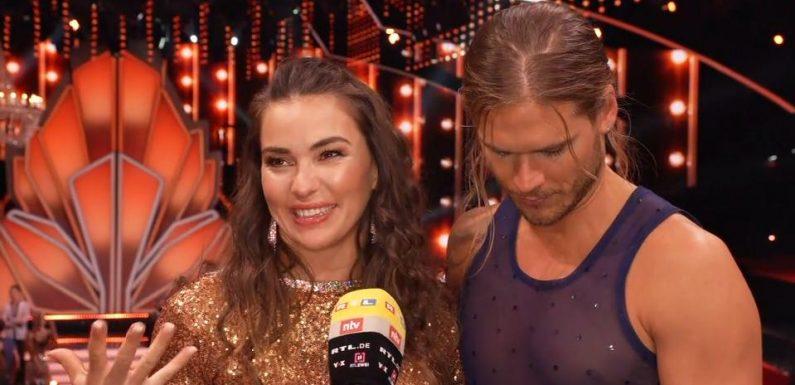 Let's Dance 2021: Renata Lusin hatte bei Valentinas & Valentins Tanz Tränen in den Augen