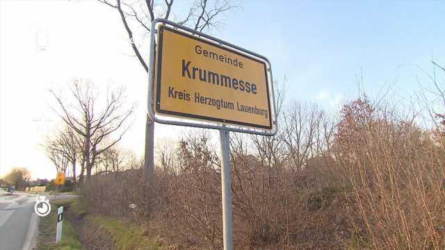 Lockdown-Chaos perfekt: Der Ort Krummesse in Schleswig-Holstein liegt zwischen zwei Inzidenzgebieten
