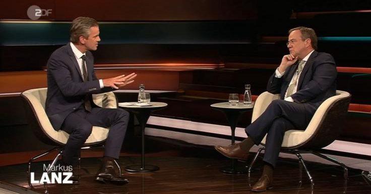 """Markus Lanz: """"Ratlosigkeit war mit Händen zu greifen""""! SO denkt er über Armin Laschet"""