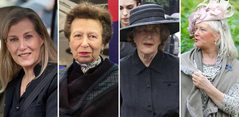 Nach Tod von Prinz Philip: Diese vier Frauen stehen der Queen jetzt zur Seite