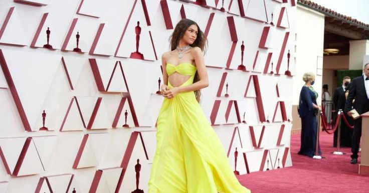 Oscar-Dresses 2021: In DIESEM Hammer-Kleid stahl Zendaya ALLEN die Show