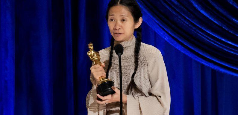 """Oscars 2021: Chloé Zhao und ihr """"Nomadland"""" räumen ab"""