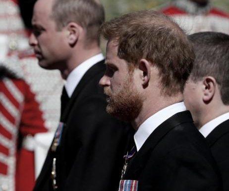 Prinz Harry & Prinz William: Berührende Bilder! Trauer um Prinz Philip vereint die Brüder