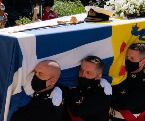 Prinz Philip: Zusammenbruch bei seiner Beerdigung