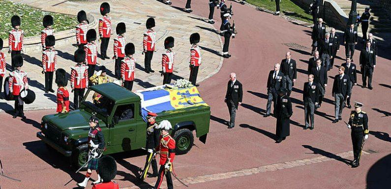 Prinz Philips Beerdigung wurde bis ins kleinste Detail durchgeplant