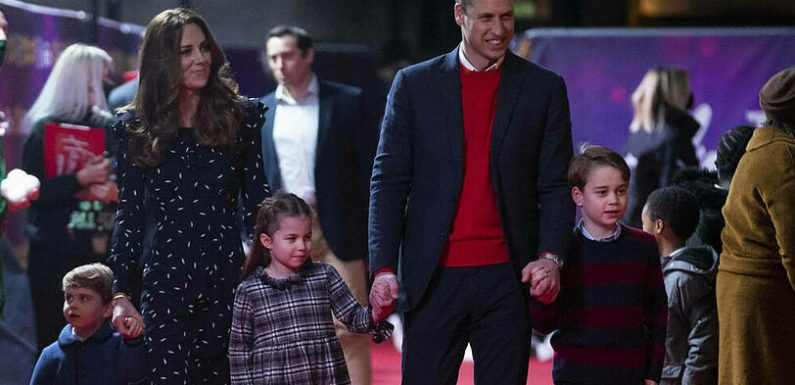 Prinz William und Herzogin Kate teilen rührendes Familienvideo