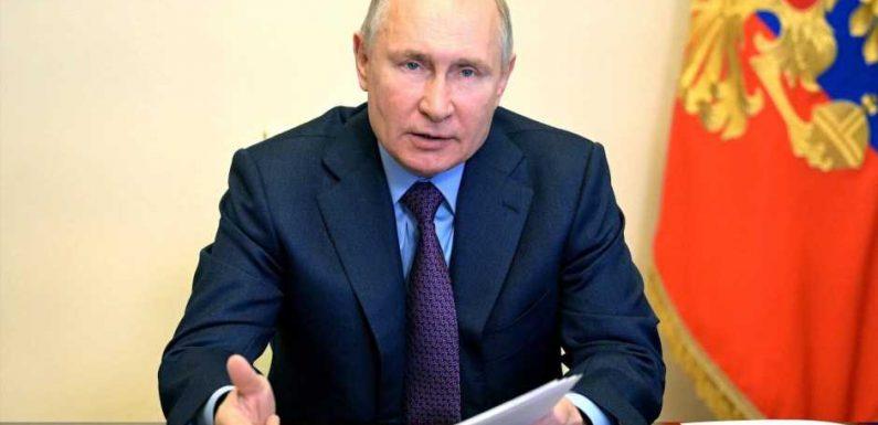 Promis schreiben fordernden Brief an Putin