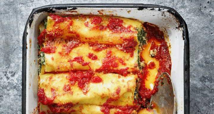 Rezept: Einfache Spinat-Cannelloni