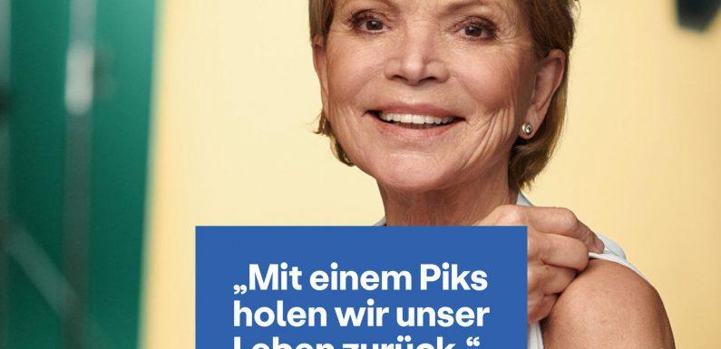 Schauspielerin Uschi Glas (77) erhält Hass-Nachrichten nach Werbespot zur Corona-Schutzimpfung